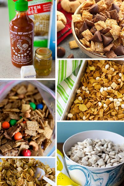 5 MUST-TRY CHEX MIXES FOR FAMILY GAME NIGHT - Honey Sriracha, Blueberry Lemon, Peanut Butter... #gamenight #gamingsnacks #recipe #snacks *These are sound delicious.